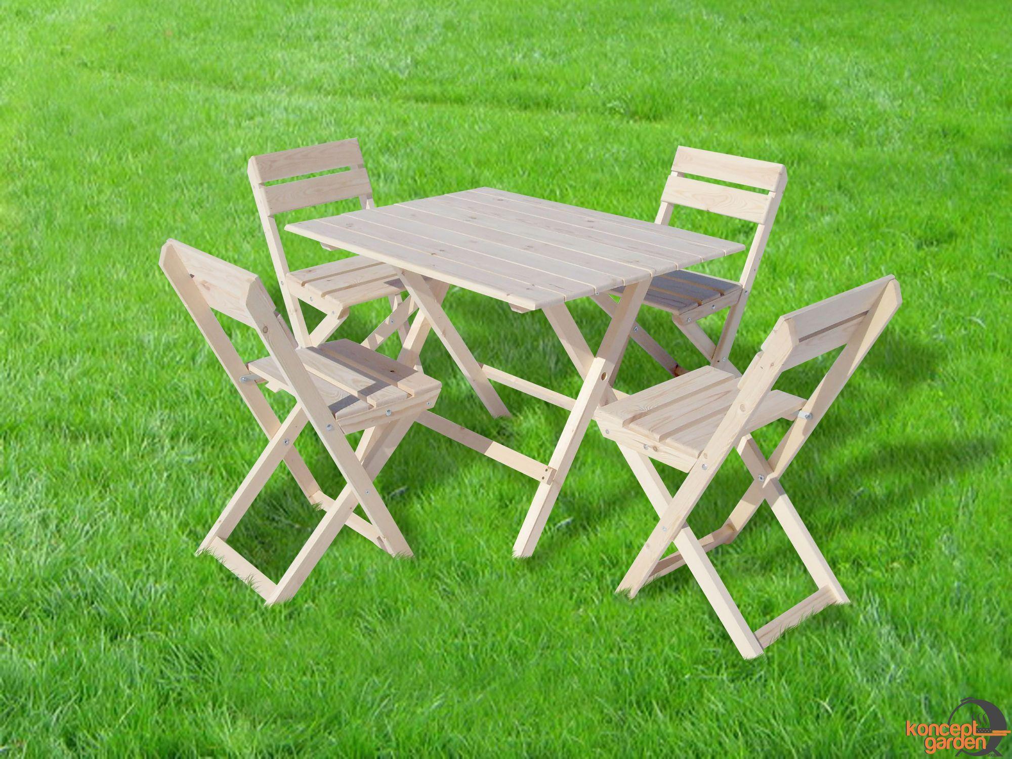 Деревянный стул для дачи