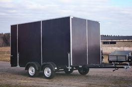 Фургон фанерный коммерческий двухосный ФФ2-325 Mustang