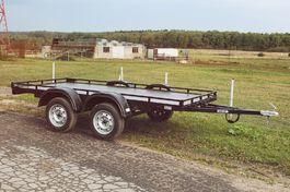 Двухосная прицеп-платформа с рейлингами ПП3 Mustang